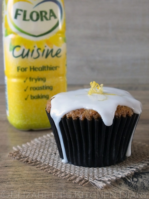 Carrot Cake Cupcakes with Flora Cuisine