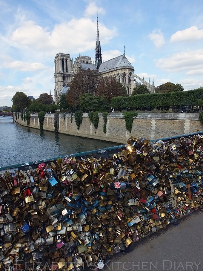 Bridge of Locks, Paris