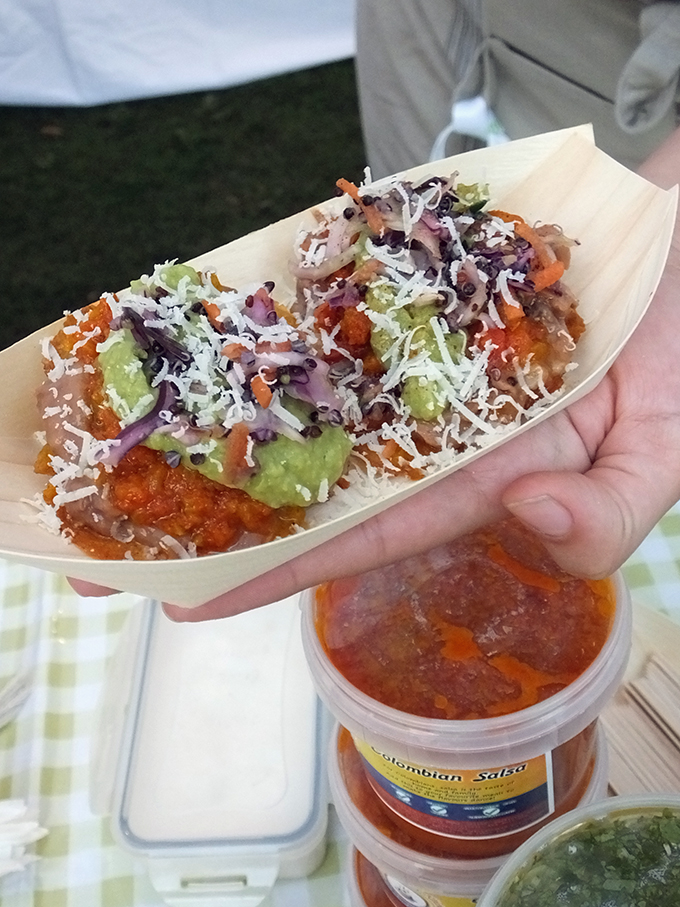 Columbian food