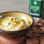 Hummus with Pomora Olive Oil