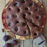 Hungarian Plum Cake Recipe with Almonds