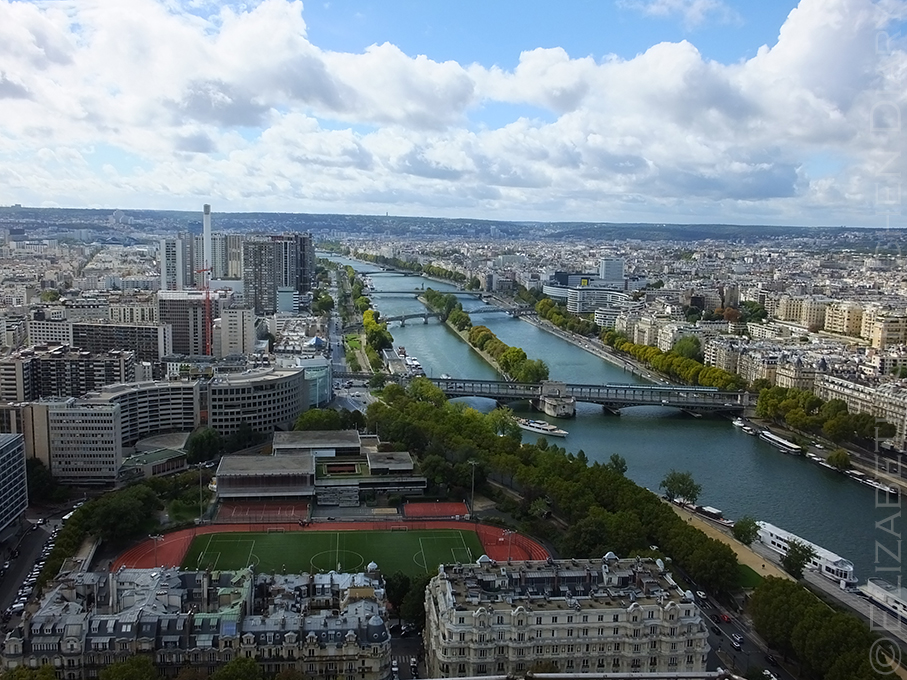 Paris from Eiffel Tower