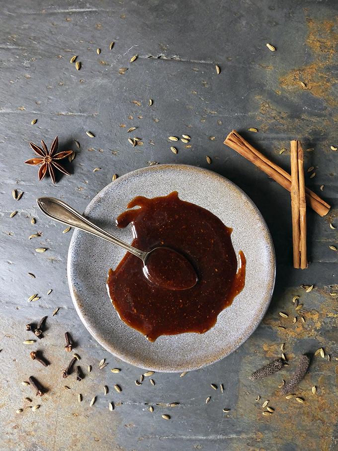 Sticky Brown Sugar Glaze