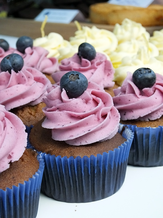 Wholesome Bakes - gluten free cupcake