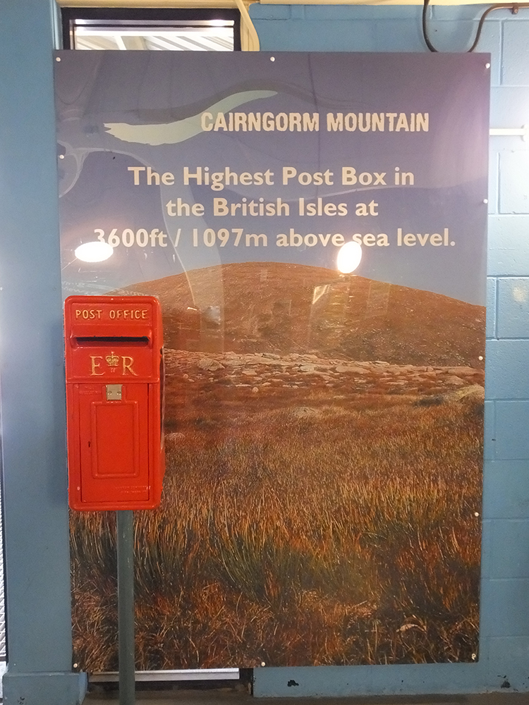 Cairn Gorm Mountain highest post box