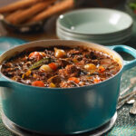 Maple -braised Venison Bourguignon