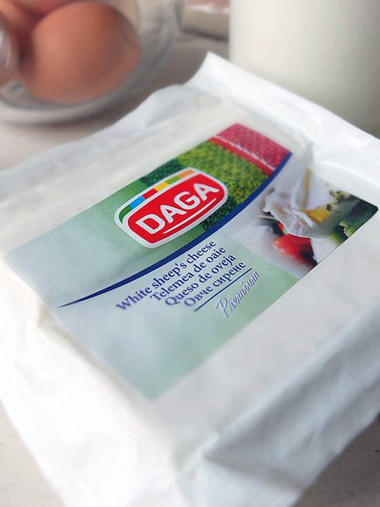 Bulgarian white sheeps cheese