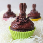 Raw Cacao Easter Cupcakes