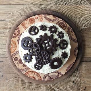 Steampunk Protein Cheesecake