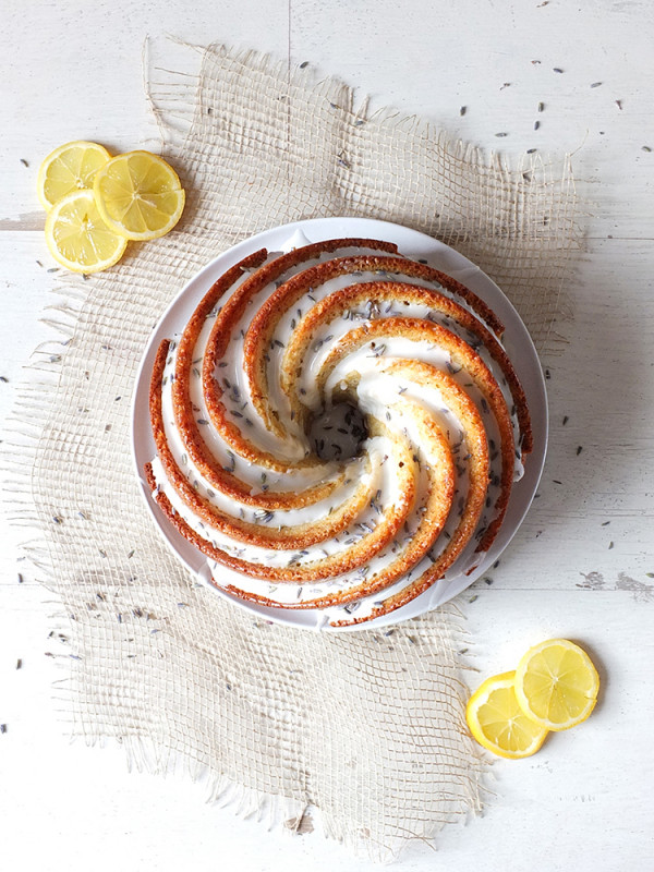 Lavender and Lemon Bundt Cake