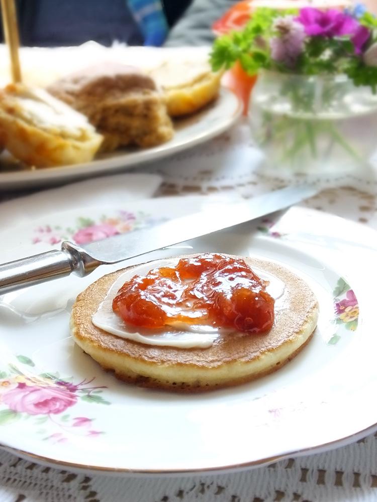Shetland Sunday Tea Pancakes