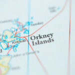 Orkney Islands map - image via Shutterstock