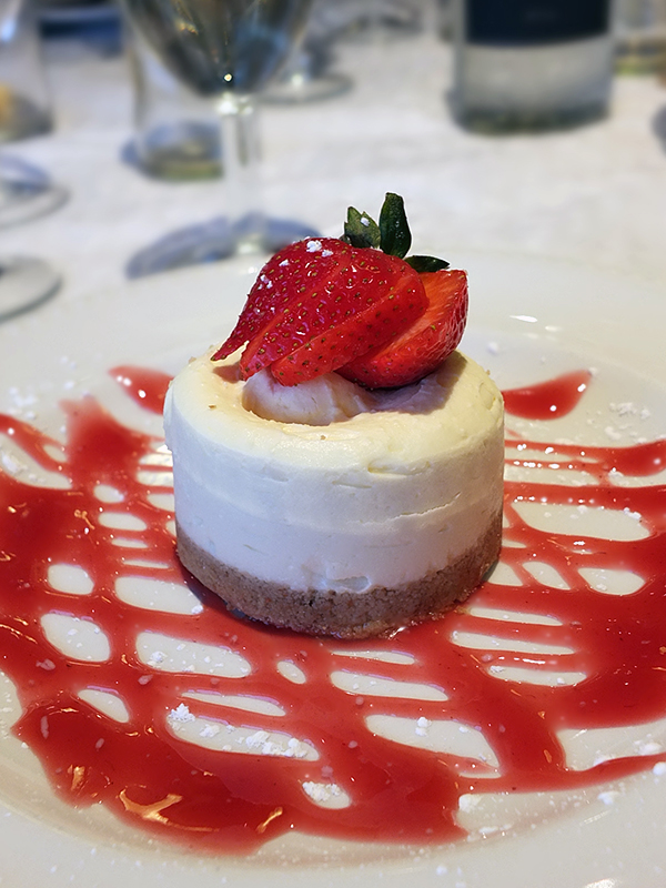 The Brasserie Cheesecake