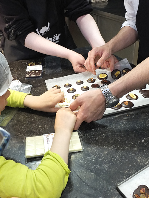 Zaabar Chocolate Workshop, Brussels