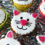 Kitty Cat Funfetti Fairy Cakes