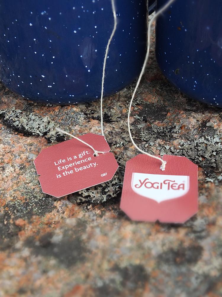 Yogi Tea Tag