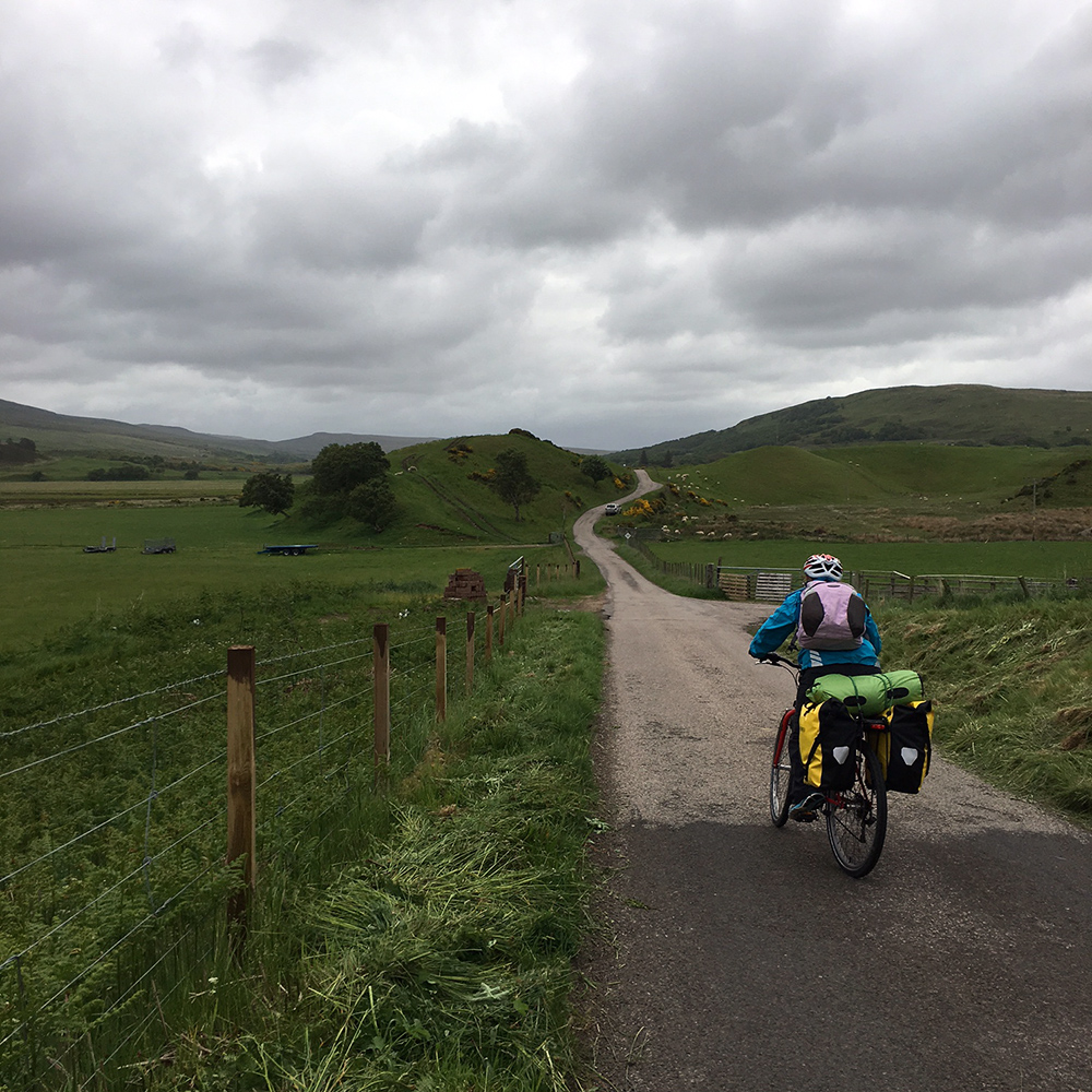 Cycling the Strath Naver, Scotland