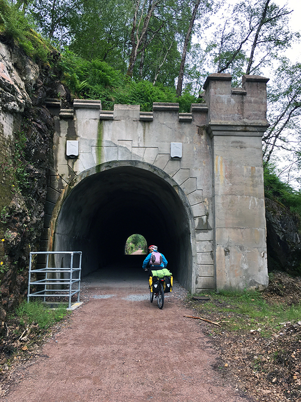 The Great Glen Way - Railroad Tunnel