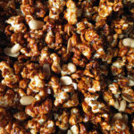 Toffee Popcorn with Peanuts