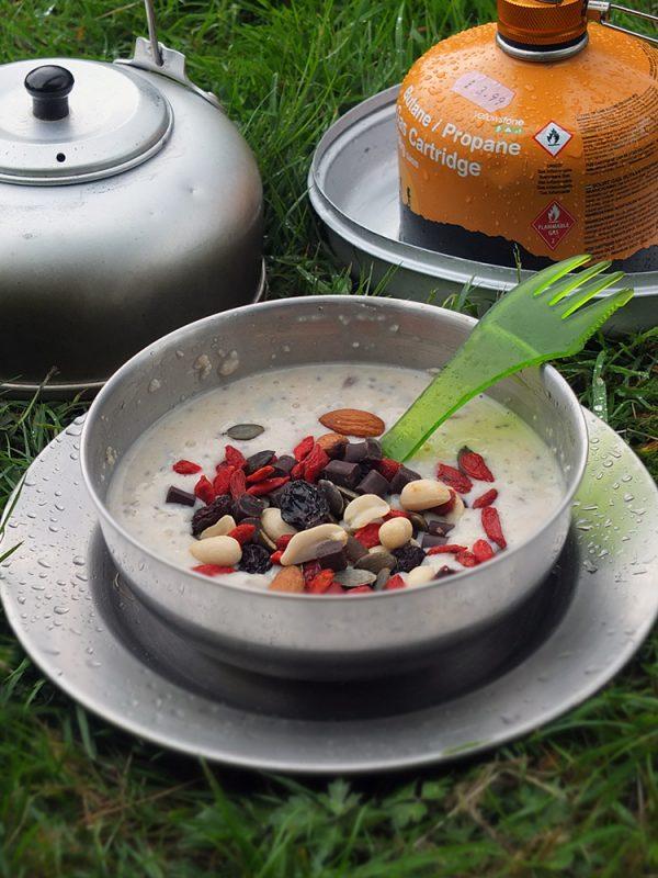 DIY Porridge Sachets for Bikepacking or camping