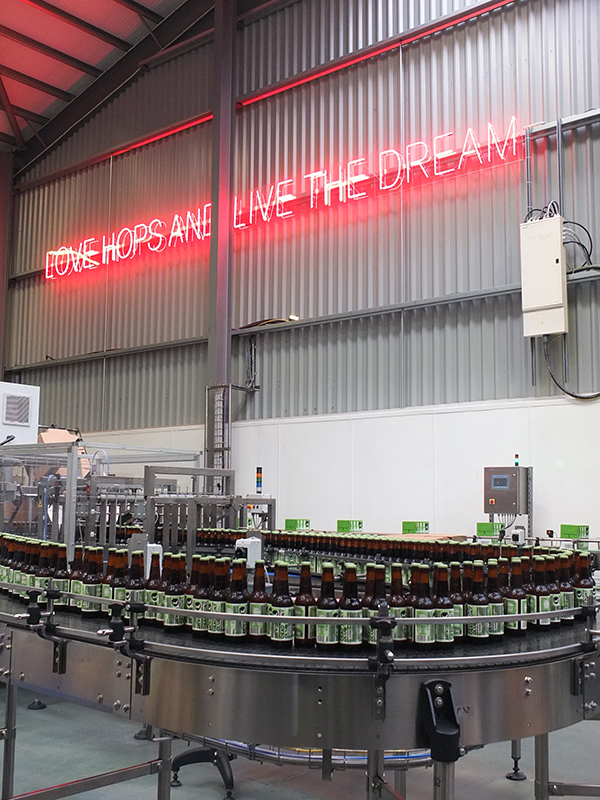 BrewDog Brewery Bottling