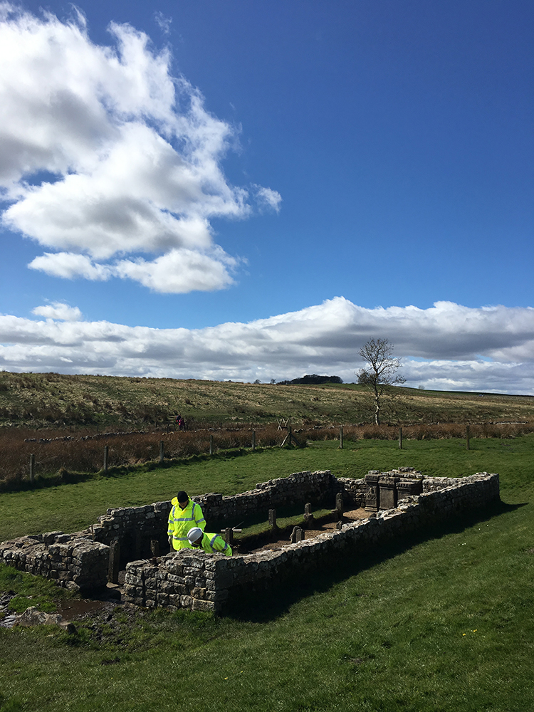 Walking Hadrian's Wall - Mithras Temple