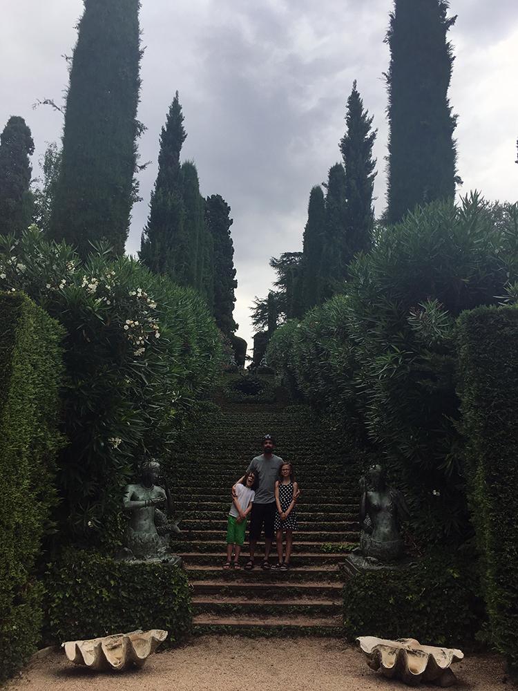 Santa Clotilde Gardens Lloret de Mar Spain