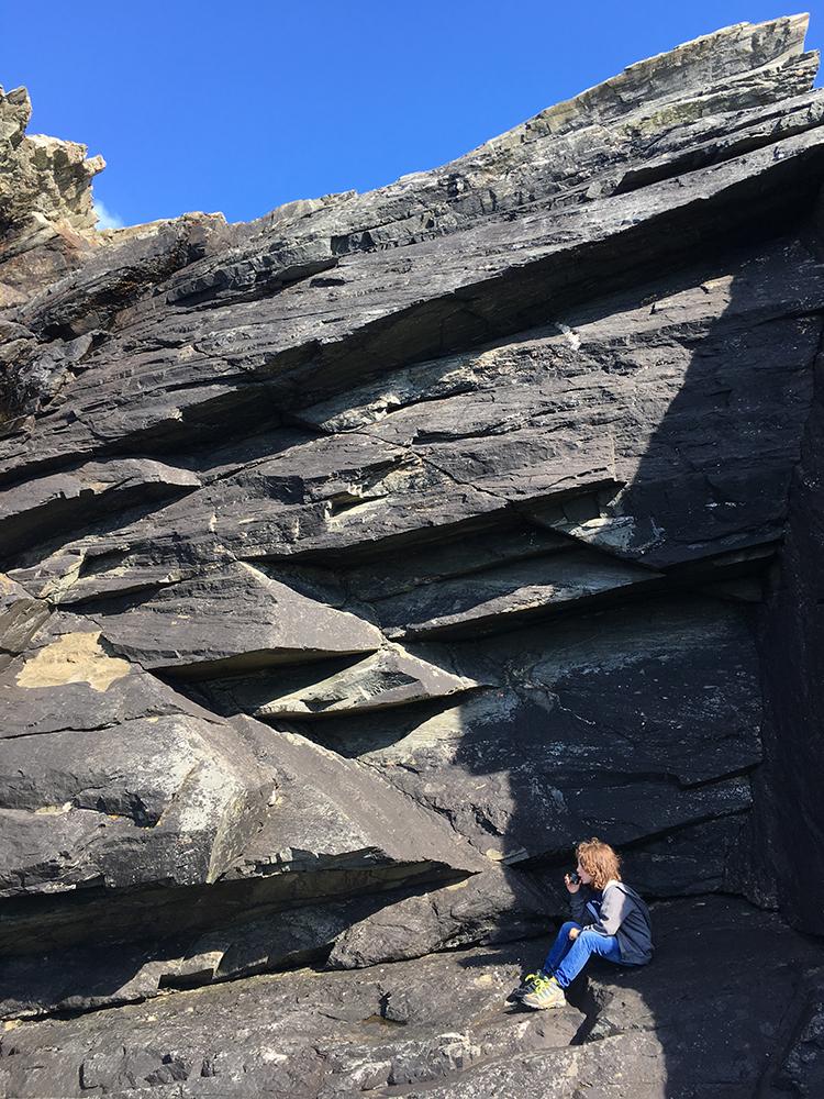 Burra Cliffs Shetland