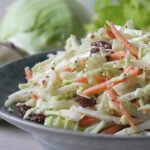 Quick & Easy 5-Minute Kohlrabi Coleslaw