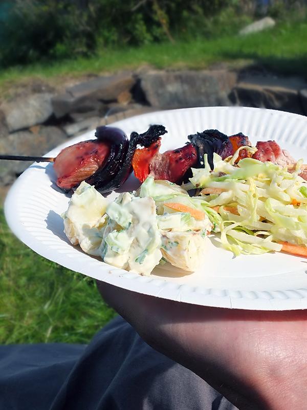 Potato Salad for barbecue recipe