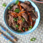 Ten Minute Ginger Honey Lamb Stir Fry