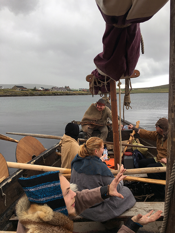 Ardglass Viking Longship Black Swallow