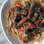 Quick & Easy Chilli & Lemongrass Lamb Stir-Fry