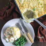Creamy Fish Pie with Prawns & Dill