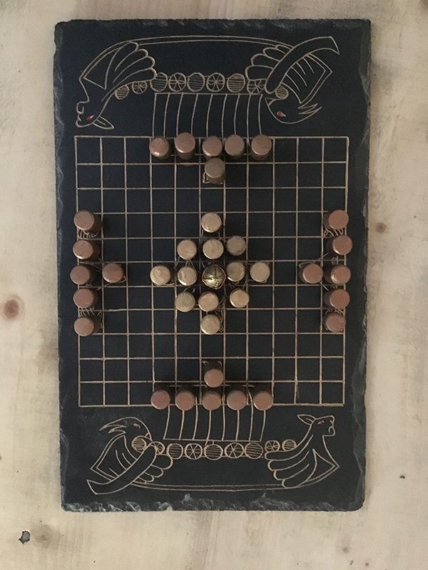 Hnefatafl Viking Chess Game