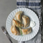 Traditional Polish Dumplings with Cheese and Potatoes (Pierogi Ruskie)