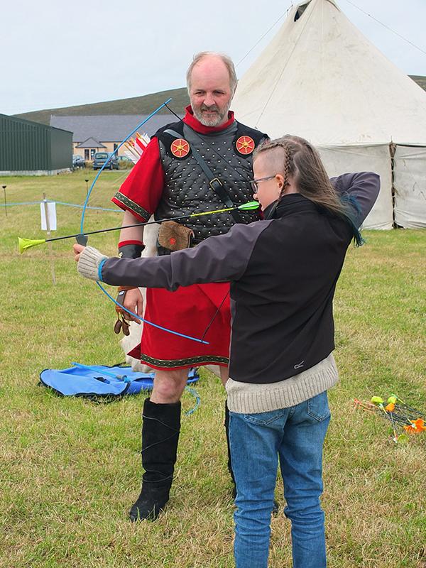 Unst Viking Festival - Archery