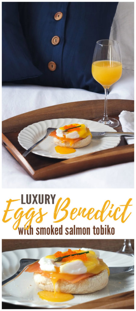 Luxury Breakfast in Bed Eggs Benedict with Smoked Salmon Pinterest
