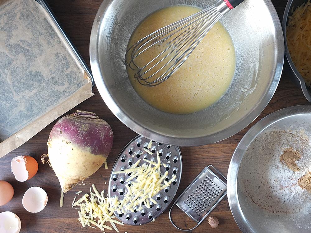 Swede Cake preparation