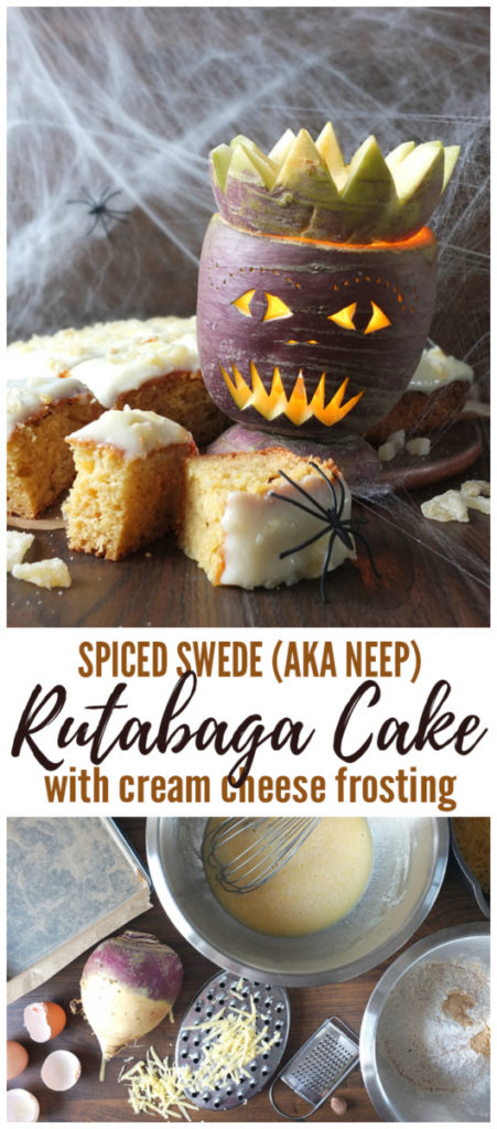 Swede Rutabaga Cake with Cream Cheese Frosting Pinterest