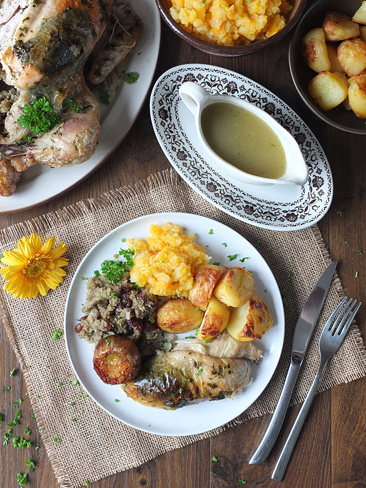 The Ultimate Roast Chicken Dinner