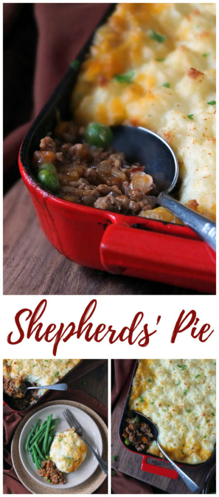 Classic Sheperds Pie Recipe Pinterest