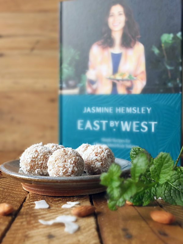 Coconut Lime and Mint Ladoo East by West Cookery Book