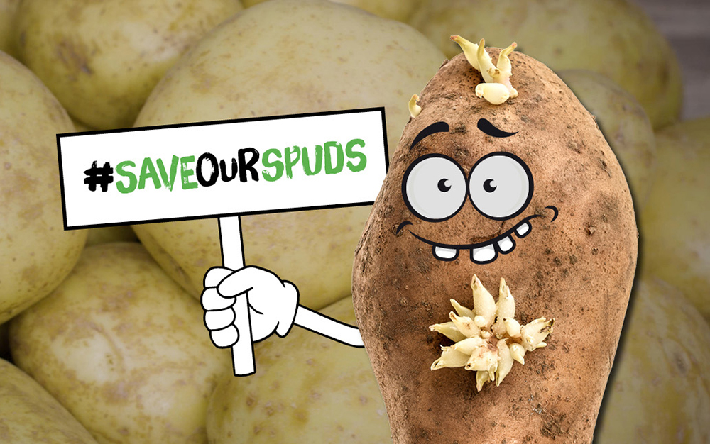 #SaveOurSpuds Love Food Hate Waste