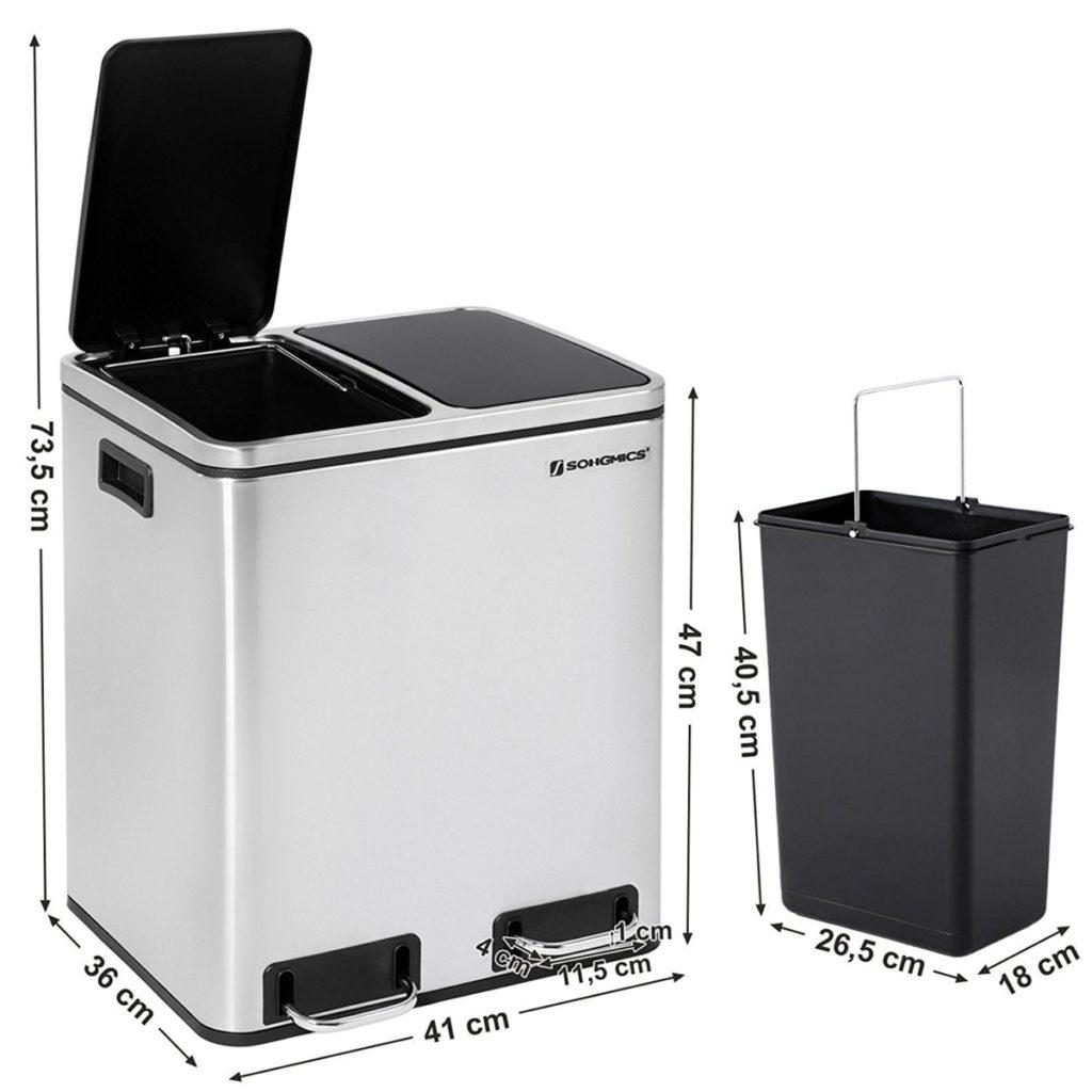 SongMics Recycling Pedal Bin Giveaway