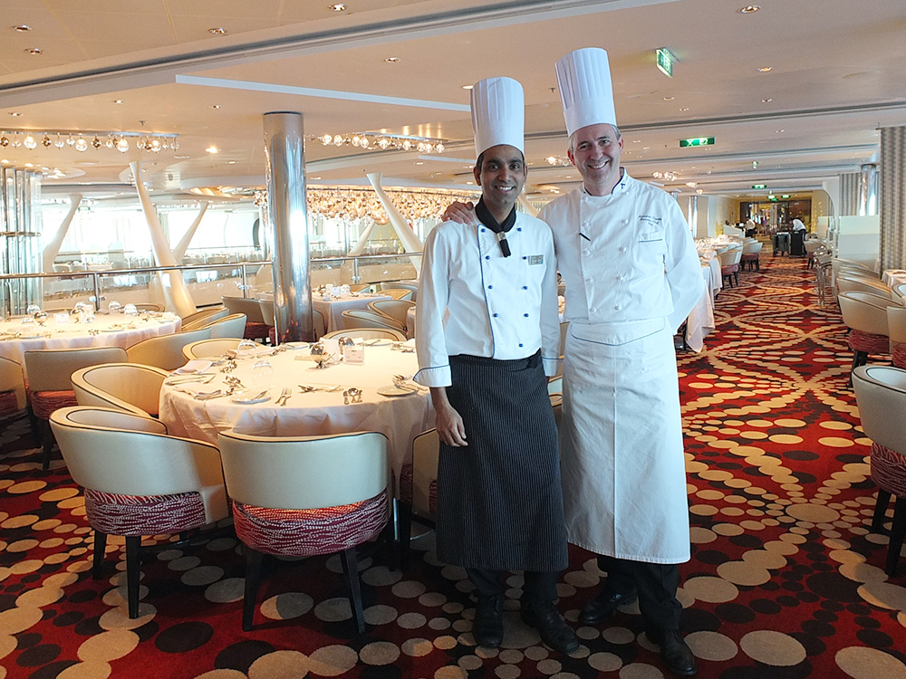 xecutive and Pastry Chefs on Celebrity Equinox Cruise Ship