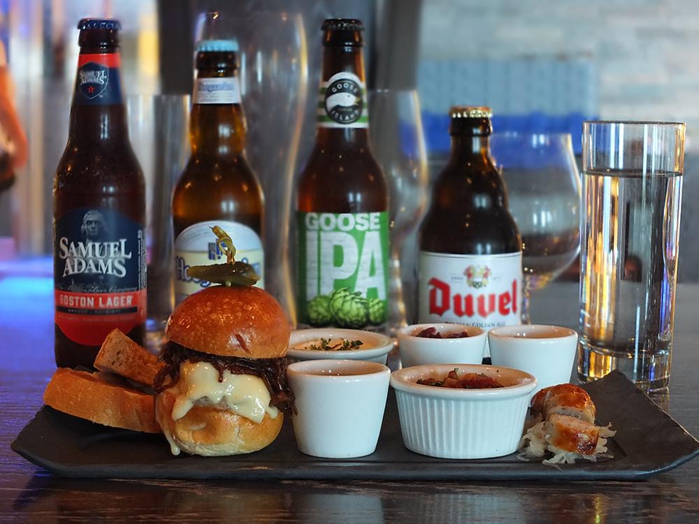 GastroBar Celebrity Equinox Food and Beer Tasting