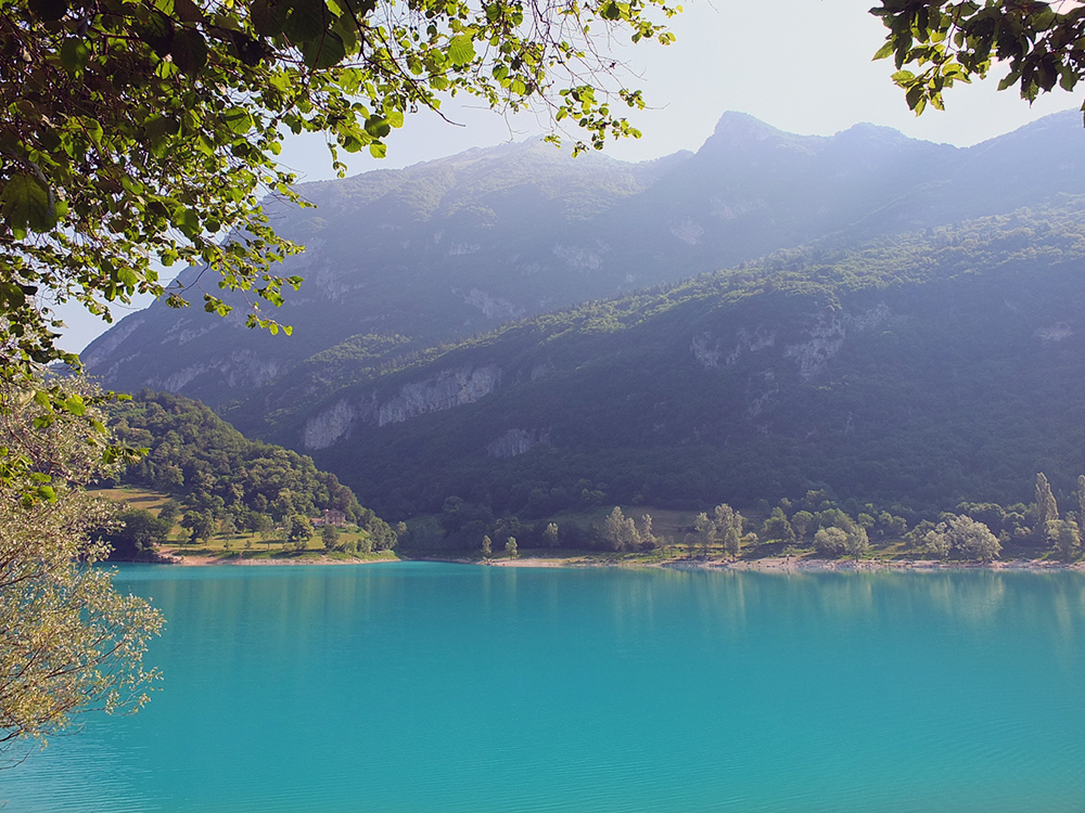 Lago di Tenno Lake Italy