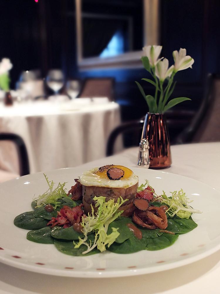 Spinach Salad Murano Restaurant Celebrity Equinox