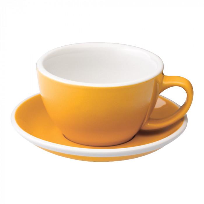 Yellow Egg Latte Mug
